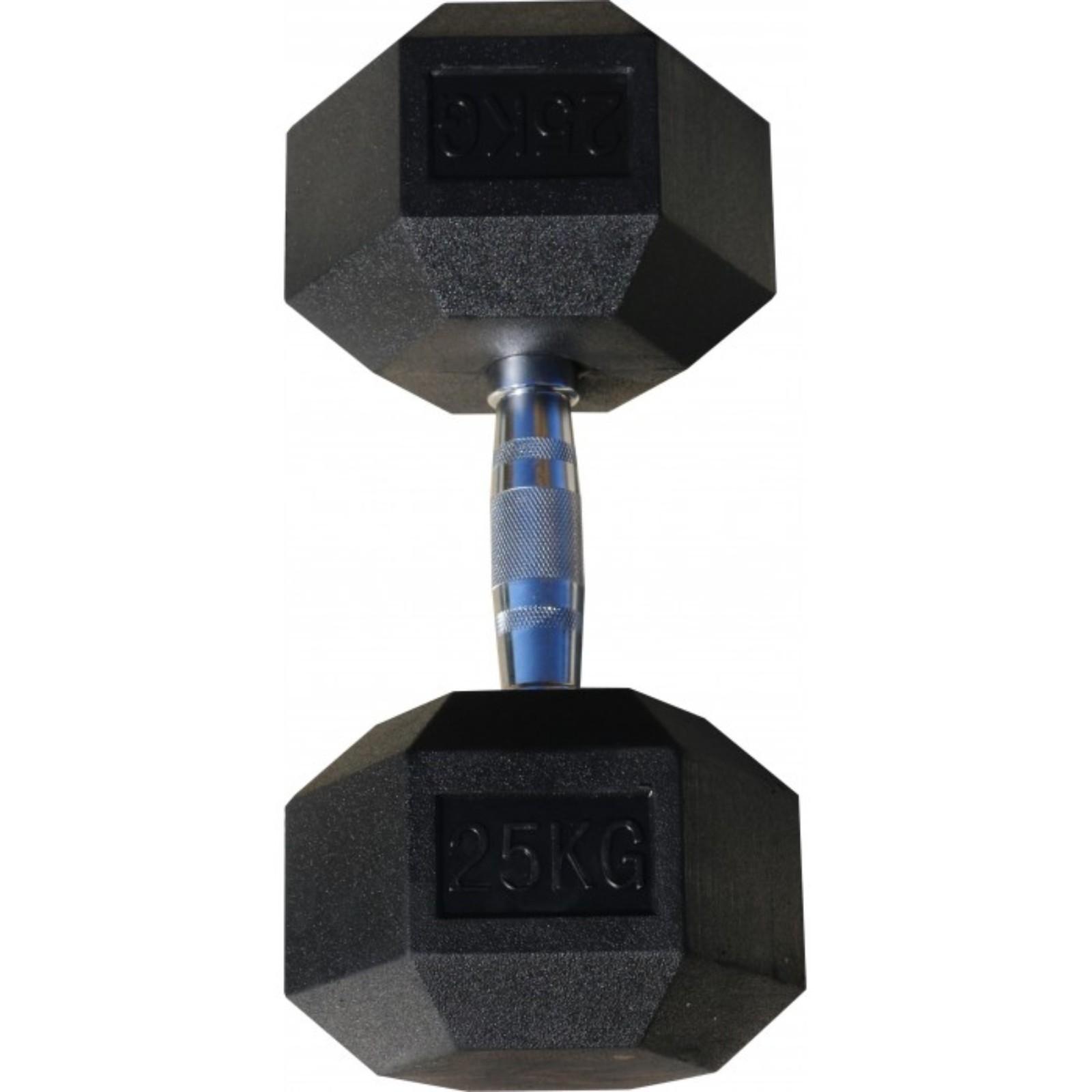 Гантель Body Solid гексагональная 25 кг