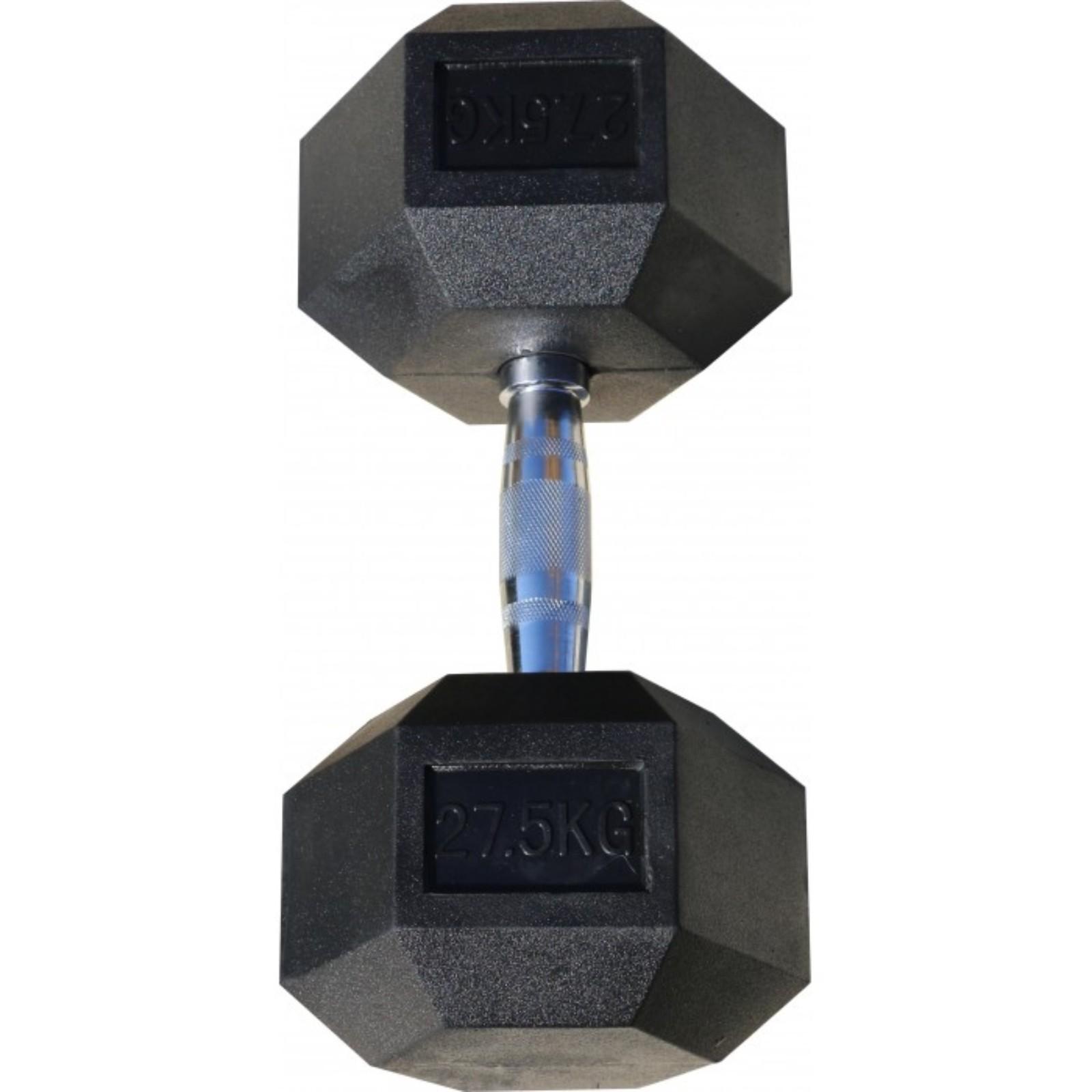 Гантель Body Solid гексагональная 27.5 кг