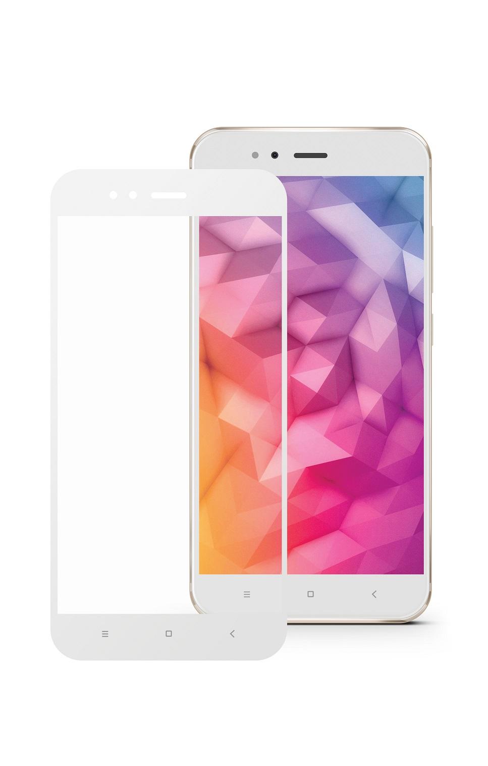 Защитное стекло Mobius Xiaomi Mi A1, белый защитное стекло mobius xiaomi mi 6 белый