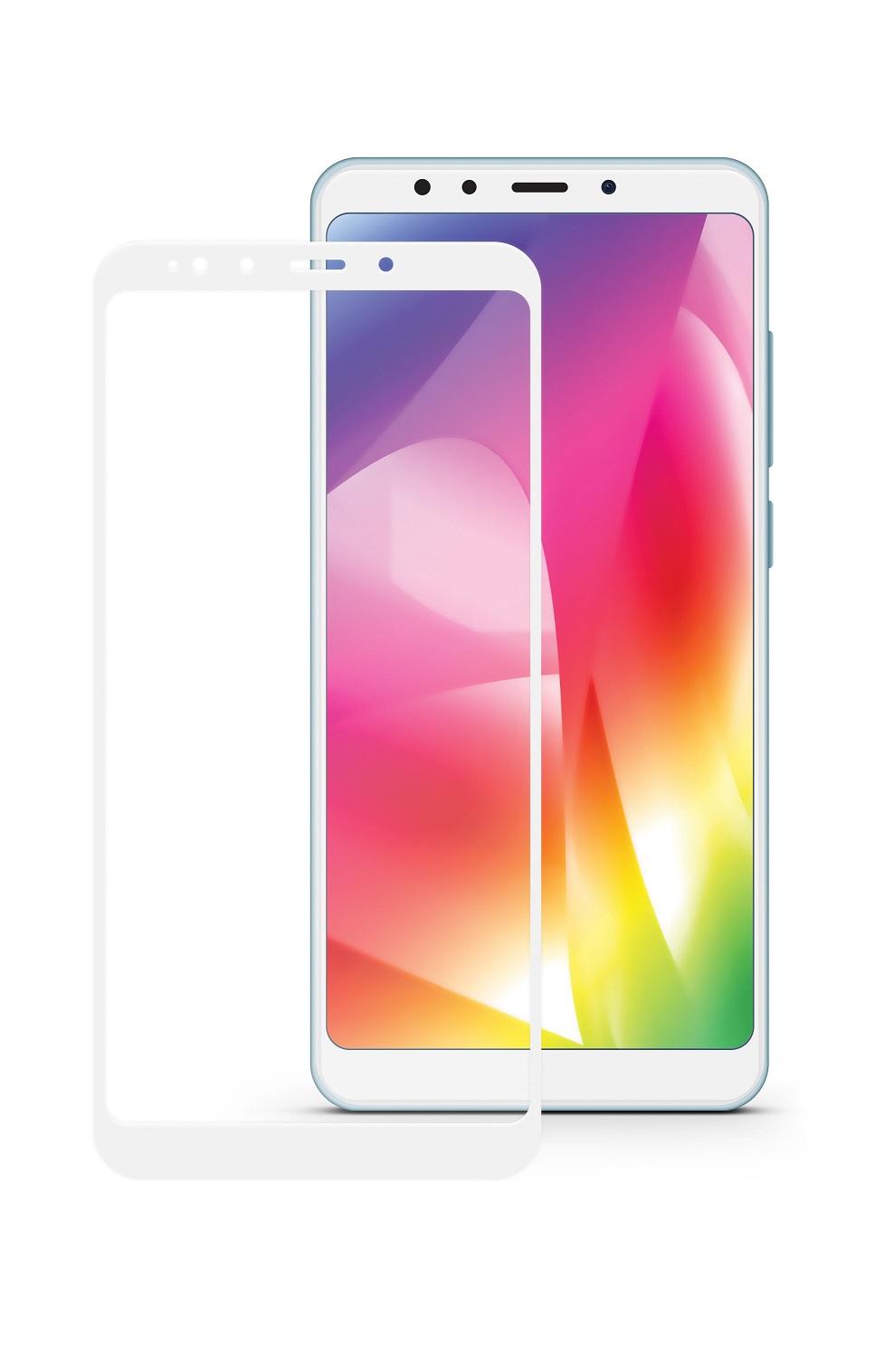 Защитное стекло Mobius Xiaomi Mi A2/Mi 6X, белый защитное стекло mobius xiaomi mi a2 mi 6x черный