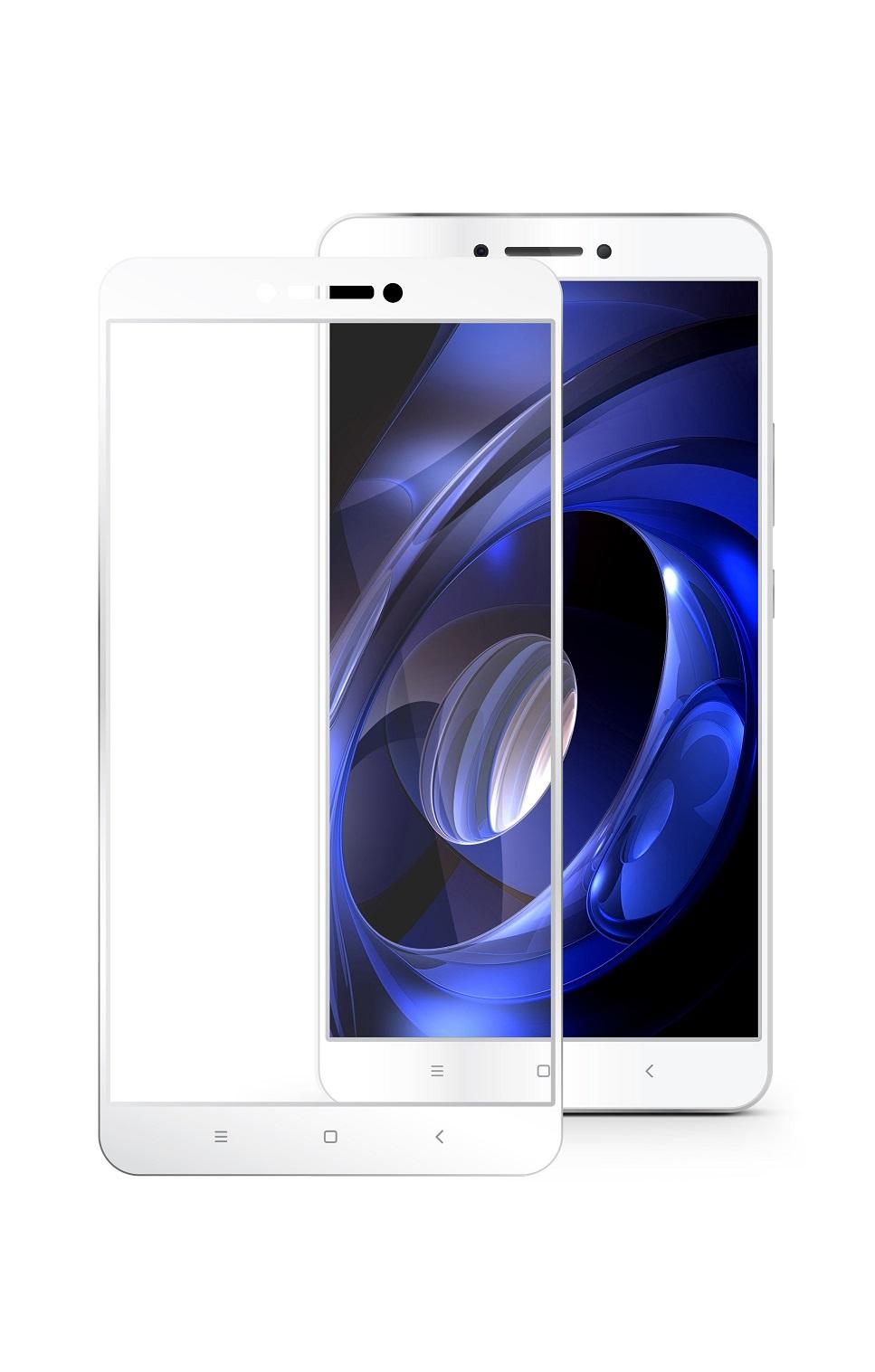 Защитное стекло Mobius Xiaomi Mi Max 2, белый защитное стекло mobius xiaomi mi 6 белый
