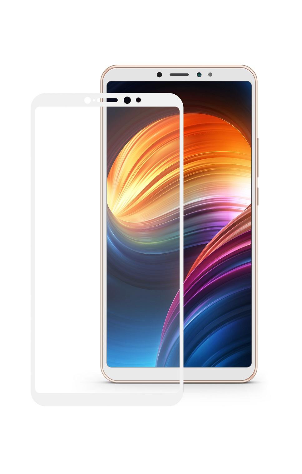 Защитное стекло Mobius для Xiaomi Mi Max 3 3D Full Cover (White) защитное стекло mobius для xiaomi mi note 3 3d full cover black