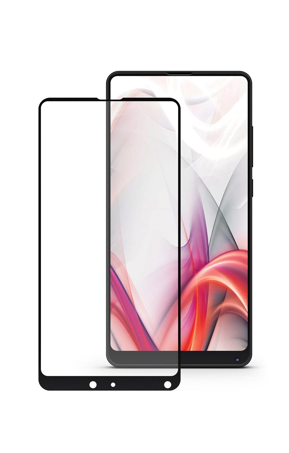 Защитное стекло Mobius Xiaomi Mi Mix 2/Mi Mix 2S, черный