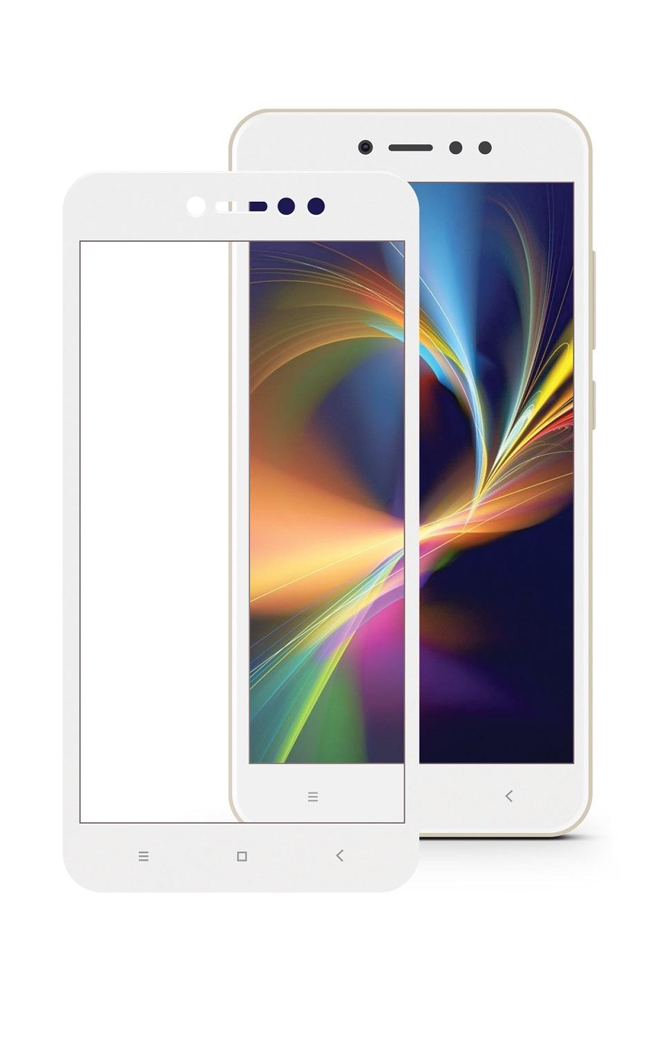 Защитное стекло Mobius для Xiaomi Redmi Note 5A/5A Prime 3D Full Cover (White) защитное стекло mobius для xiaomi mi note 3 3d full cover black