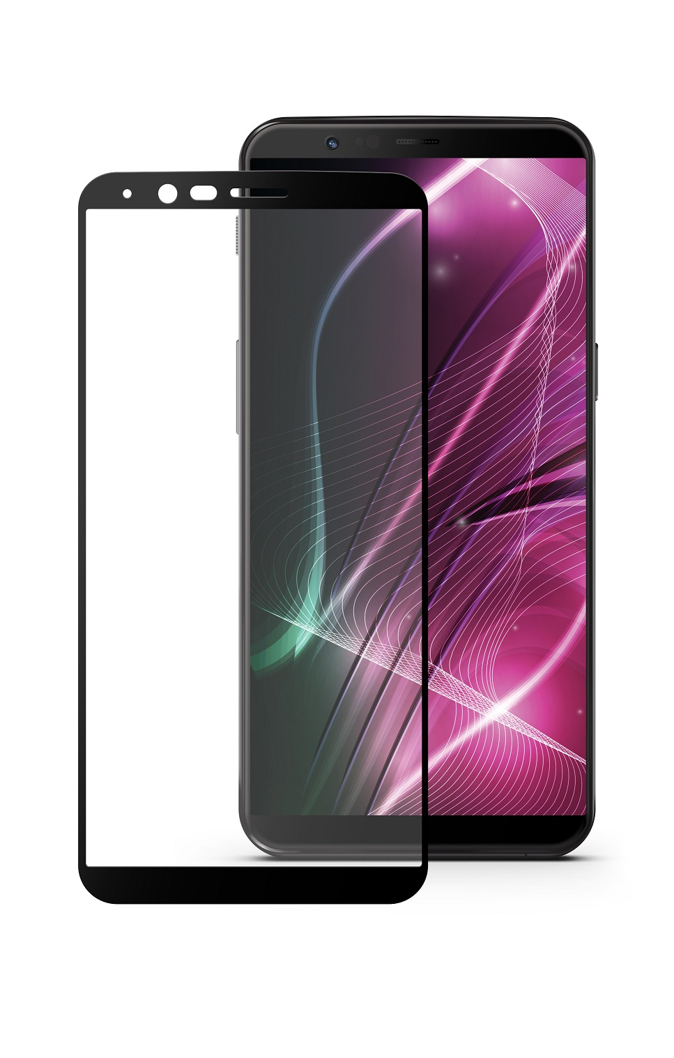 Защитное стекло Mobius OnePlus 5T, черный