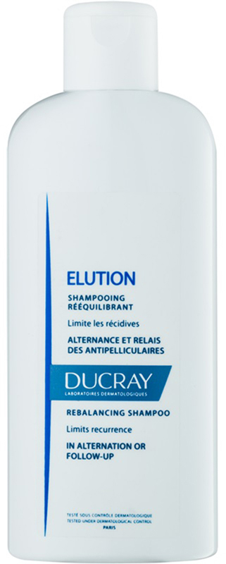 Оздоравливающий шампунь для волос Ducray Elution, 200 мл кондиционер kerasys для волос оздоравливающий 600 мл