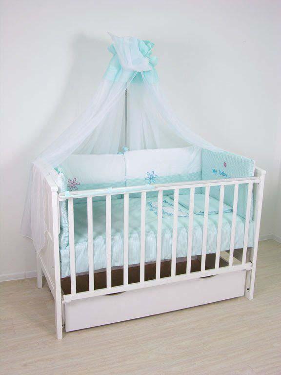 Комплект белья для новорожденных Fairy Белые кудряшки, цвет: белый, голубой, 7 предметов fairy комплект белья для новорожденных белые кудряшки цвет белый зеленый 7 предметов