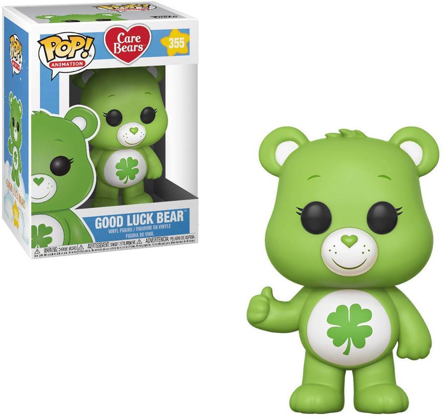 где купить Фигурка Funko POP! Vinyl: Care Bears: Good Luck Bear w/Chase 26695 по лучшей цене