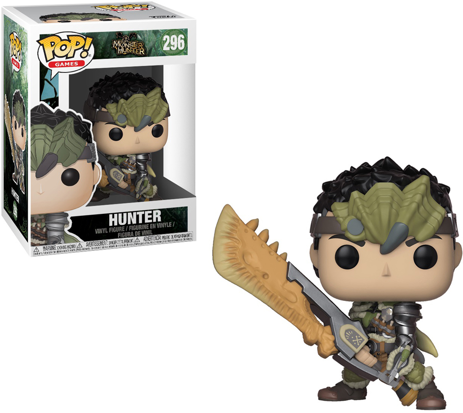 Фигурка Funko POP! Vinyl: Games: Monster Hunter S1: Hunter Male Rathalos Armor 27344 monster hunter 4g mh4 front