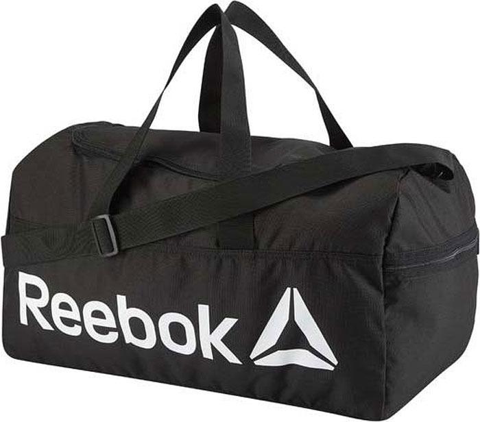 Сумка мужская Reebok Act Core M Grip, цвет: черный. DN1521 куртка мужская reebok od dwnlk jckt цвет черный d78631 размер m 50