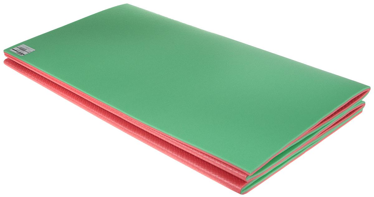 Коврик туристический Isolon Тourist 8, цвет: зеленый, красный, 180 х 60 х 0,8 см коврик туристический isolon оptima large s10 op 10 lg nn 506 00 зеленый 180 х 60 см