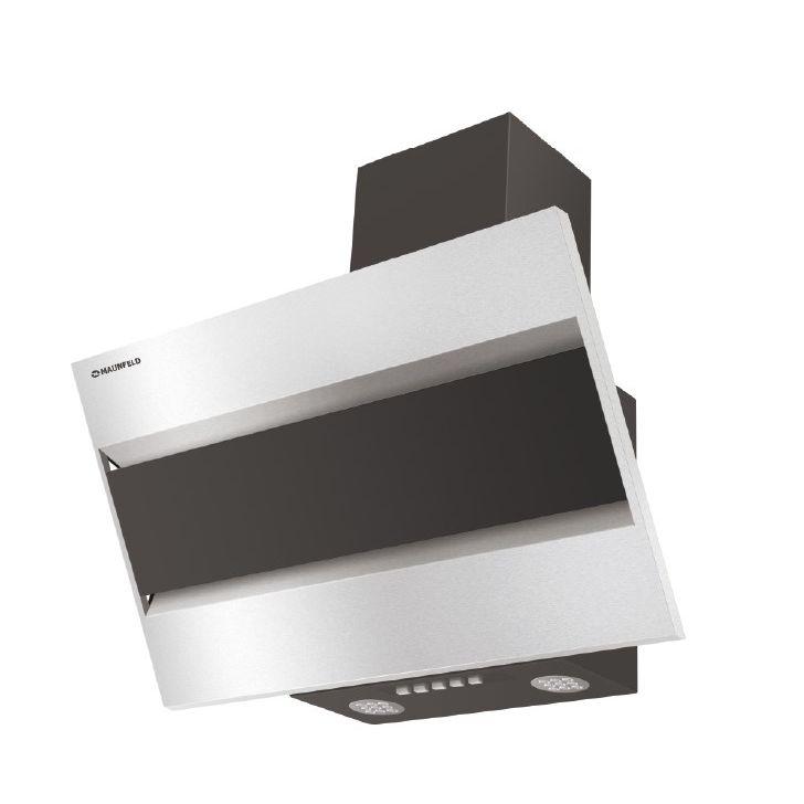 Кухонная вытяжка MAUNFELD BRIDGE 60 нержавеющая стальчерное стекло 3года гарантия! Дизайн Серия современных вытяжек наклонного типа...
