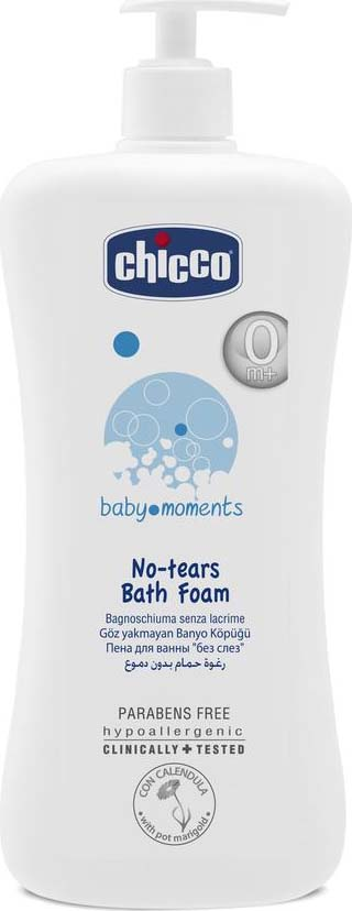 цены Пена для ванны Chicco Baby Moments, c календулой, 750 мл