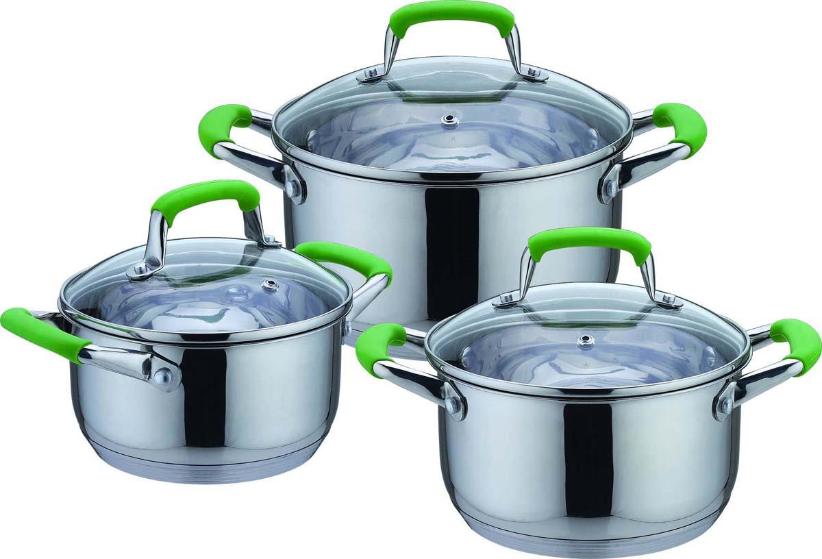 "Набор посуды Bekker ""De Luxe"", 6 предметов"
