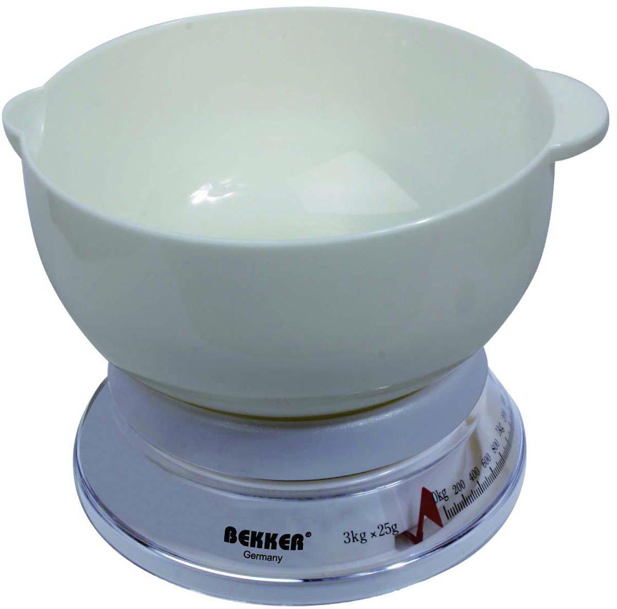 """Весы кухонные Bekker """"BK-23"""", до 3 кг"""