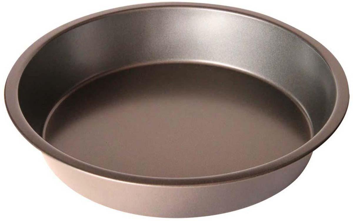 Форма для выпечки Bekker Koch, круглая, с антипригарным покрытием, диаметр 30,3 см форма для пиццы dr oetker comfort круглая с антипригарным покрытием цвет серый диаметр 30 см