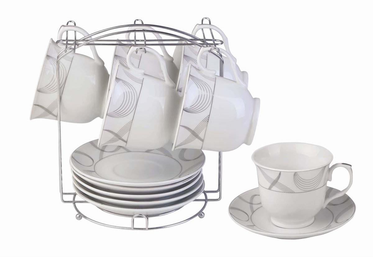 Набор чайный Bekker, 13 предметов. BK-6801 чайный набор alex в горошек металлическая 705pd