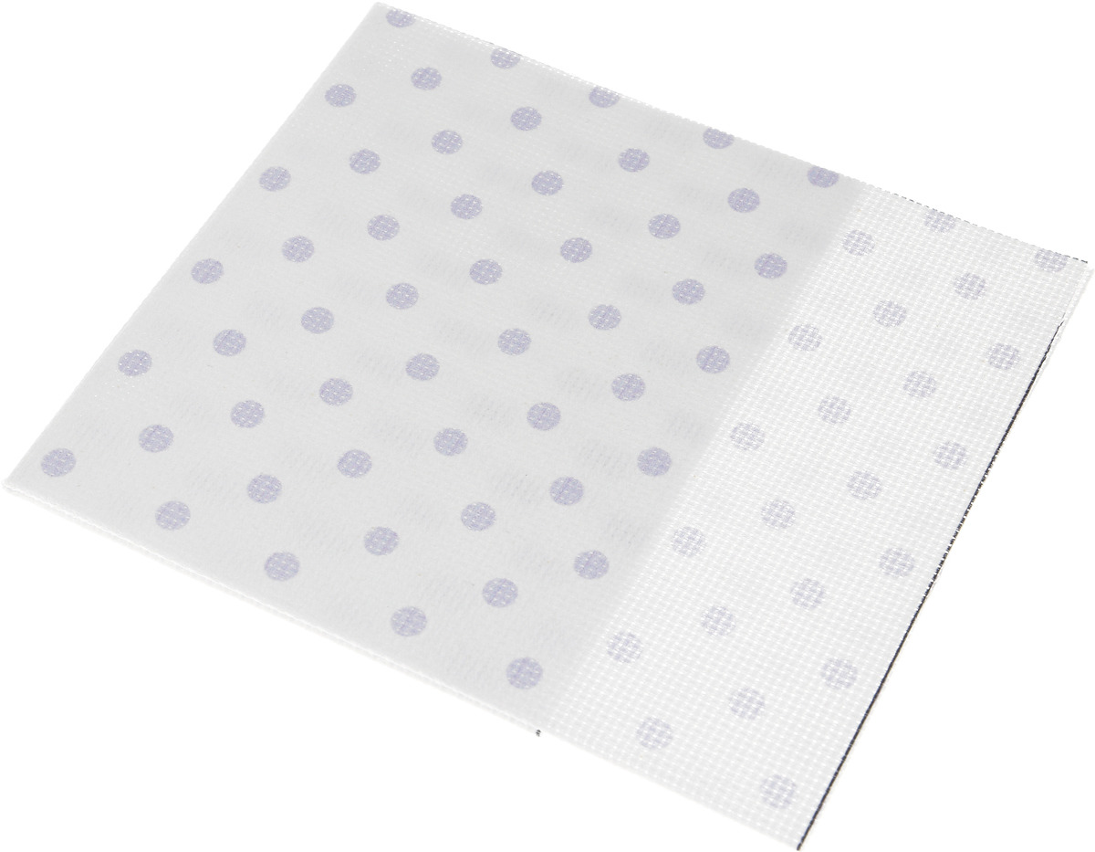 Канва для вышивки Bestex, цвет: белый, 30 х 30 см. 7721913_014 набор шкатулок для рукоделия bestex 3 шт zw001250