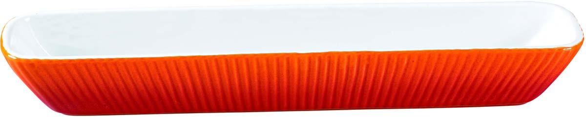 Форма для запекания Bekker, керамическая, цвет: красный. BK-7090