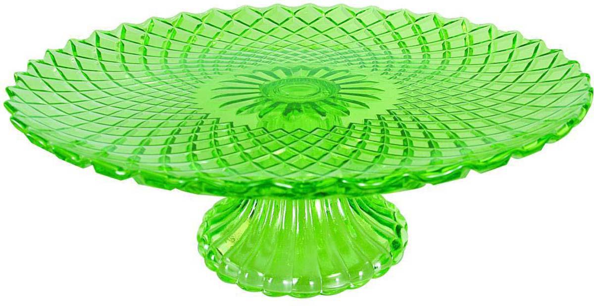 Фруктовница Bekker, цвет: зеленый, диаметр 25,2 см. BK-7538 фруктовница bekker трехъярусная bk 7510