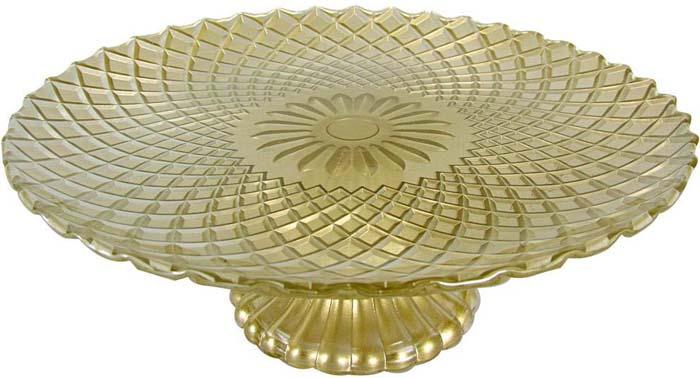 Ваза для фруктов Bekker. BK-7539BK-7539Ваза для фруктов, d-25. 2 см, высота 8,5 см. , цвет под золото. Не подходит для мытья в посудомоечных машинах. Состав: стекло.