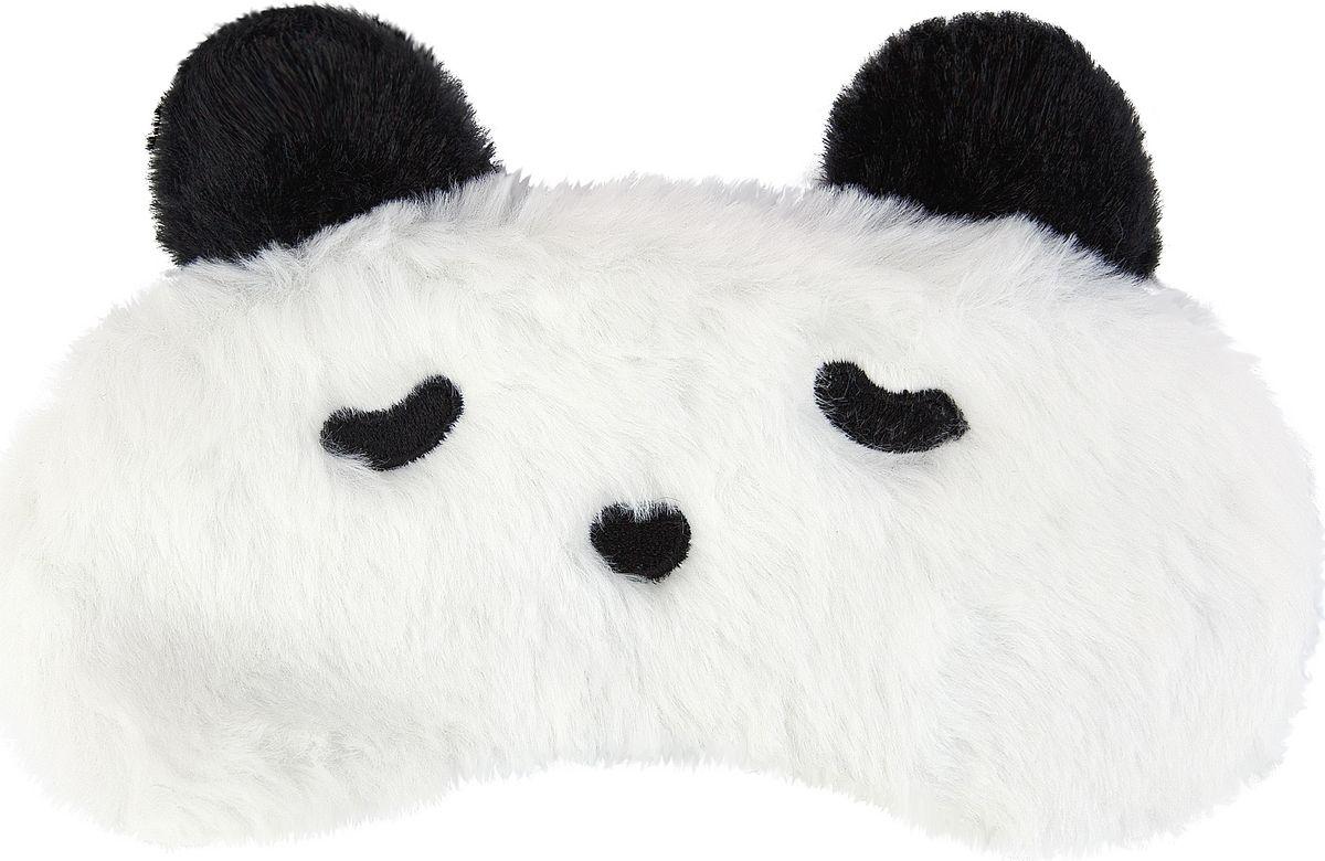 Маска для сна Kawaii Factory Панда, цвет: белый. KW086-001781