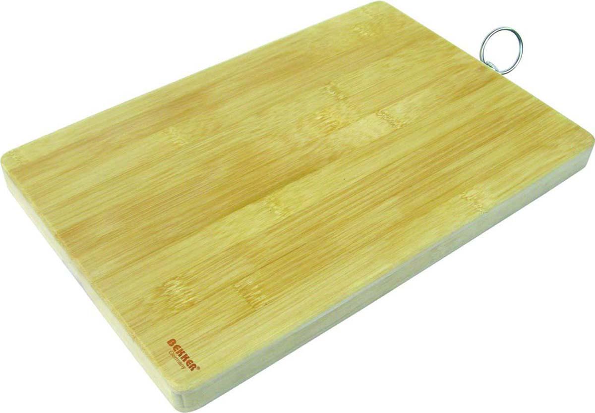 Доска разделочная Bekker BK-9700, прямоугольная, 30 х 20 х 1,8 см доска разделочная bekker bk 9720