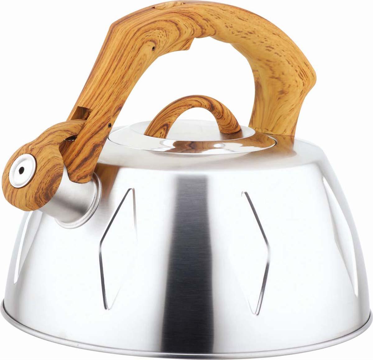 Чайник Bekker, со свистком, 2 ,8 л. BK-S456 цена