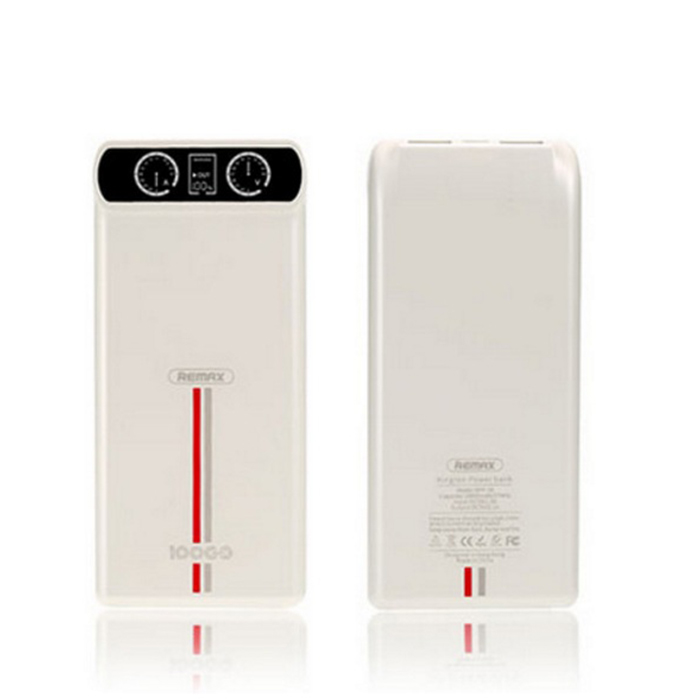 Power Bank 10000 mAh Remax RPP-18 White power bank 10000 mah remax rpp 85 red