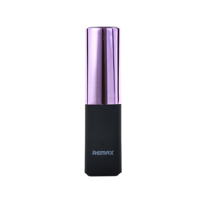 Power Bank 2400 mAh Remax RPL-12 Lipmax Purple цены