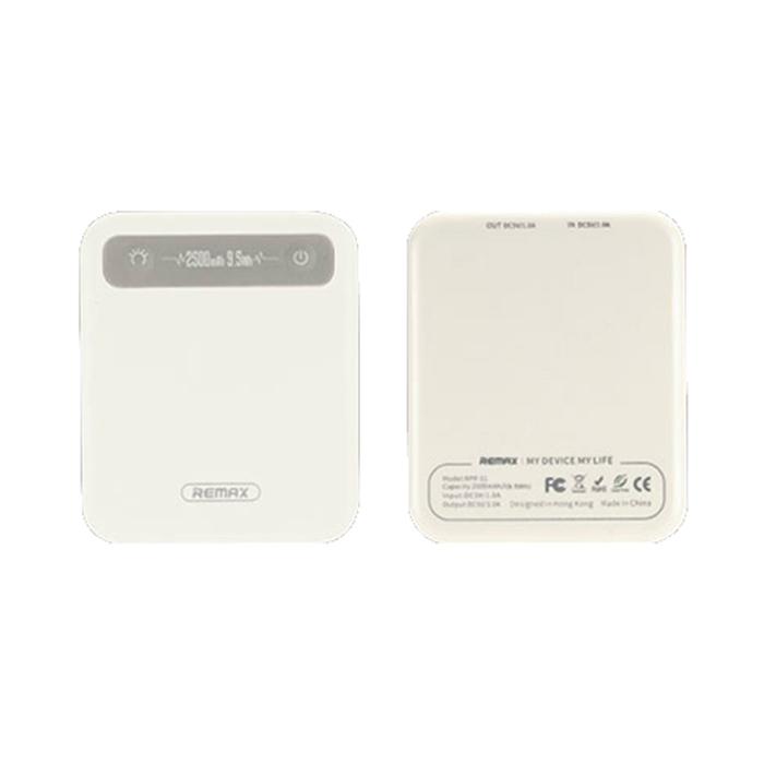 Power Bank 2500 mAh Remax RPP-51 White аккумулятор remax proda 30000 mah black