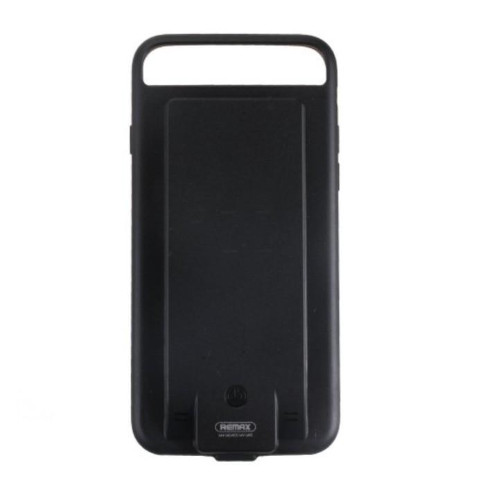 Чехол+АКБ Apple iPhone 6/6S 3400 mAh Remax PN-03, Black аксессуар чехол аккумулятор mophie juice pack air for apple iphone 6 pink 2750 mah 3382