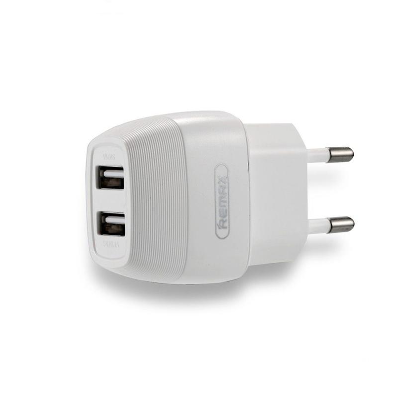 Сетевой адаптер Remax, 2 USB 2.1A  Flinc, RP-U29, White