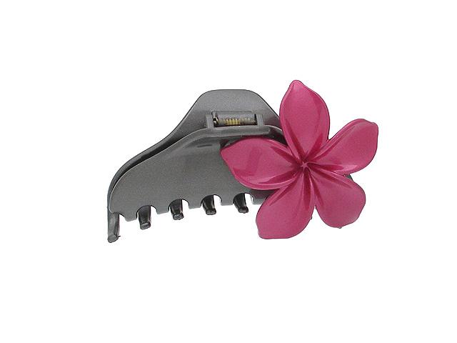 Заколка-краб Magie Accessoires, цвет: черный, розовый цена и фото