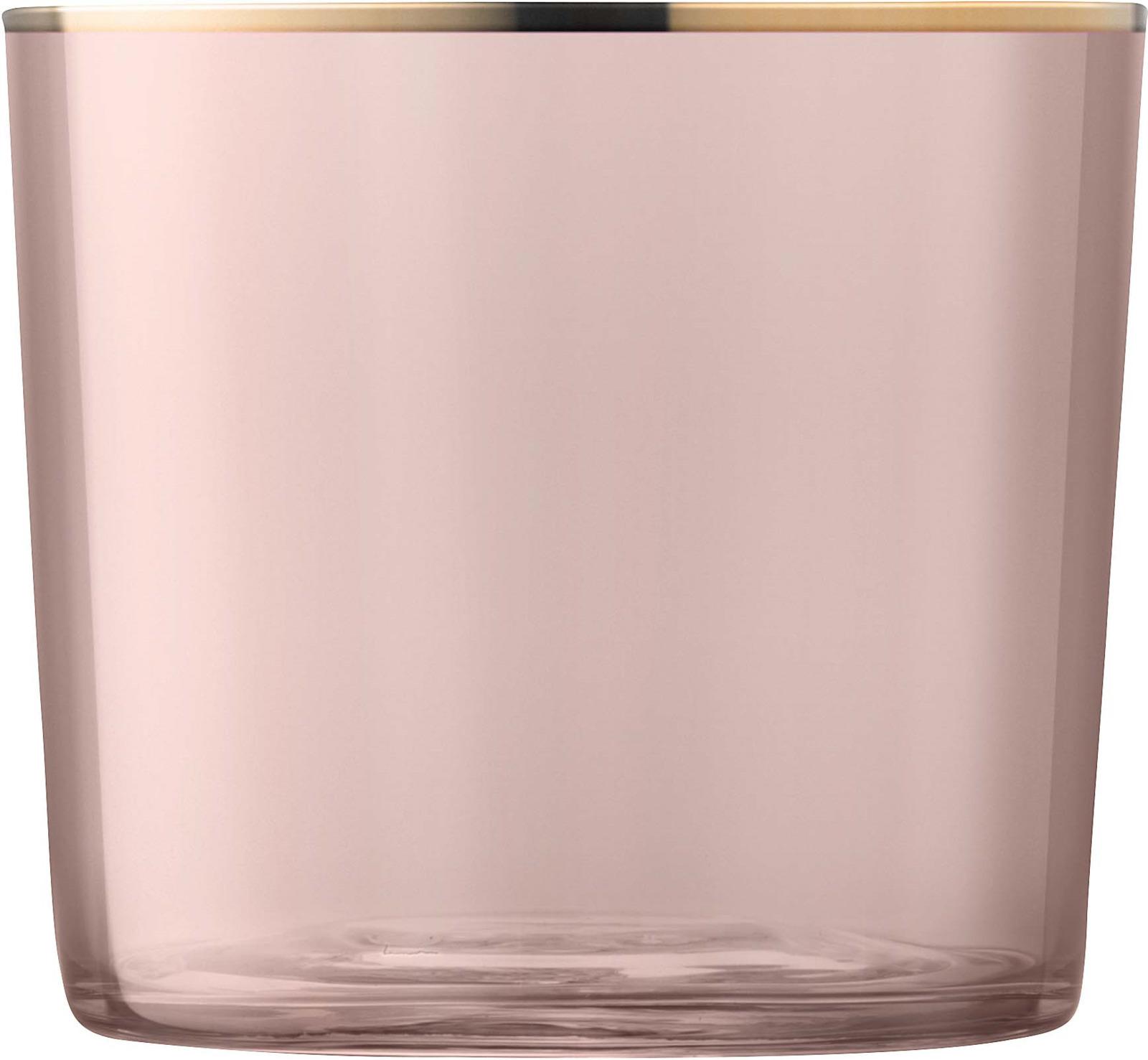 Набор стаканов LSA Sorbet, цвет: коричневый, 310 мл, 2 штG060-09-208Набор из 2 универсальных стаканов, которые можно использовать не только для подачи коктейлей, аперитивов и крепких напитков, но и для сервировки легких десертов. Объем 310 мл. Стаканы из выдувного стекла с ручной росписью станут украшением стола во время торжественных мероприятий и праздничных ужинов. Комбинируйте их с бокалами для вина или шампанского из коллекции Sorbet для создания гармоничной и завершенной композиции. Стаканы упакованы в красивую коробку и станут прекрасным подарком для любого случая. Sorbet — яркая коллекция бокалов и подсвечников, которая напоминает о солнечных днях и уютных теплых вечерах в приятной компании. Богатая палитра цветов позволяет выбрать подходящие под настроение предметы для сервировки праздничного обеда или семейного ужина. Все предметы коллекции украшены изысканной золотой окантовкой. Изделия из выдувного стекла, раскрашенные вручную и украшенные позолотой, рекомендуется мыть вручную в теплой мыльной воде и вытирать насухо мягкой тканью. Иногда в готовом изделии из выдувного стекла встречаются пузырьки воздуха — это нормально и вполне допускается технологией ручного производства. Такие пузырьки воздуха внутри не являются браком.