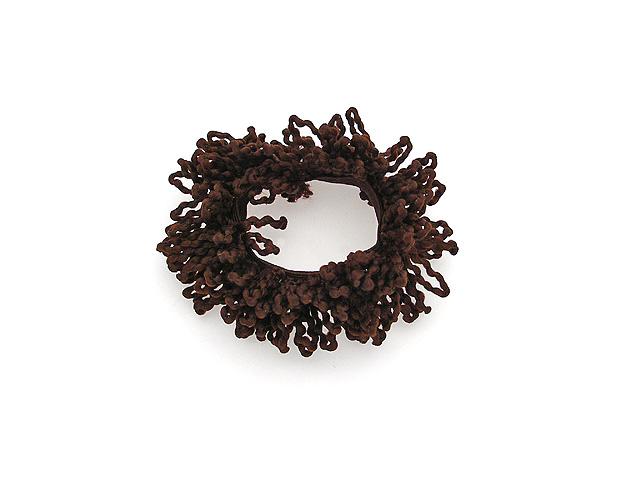 Резинка для волос Magie Accessoires, пушистая, цвет: коричневый. 482032482032Пушистая резинка для волос.