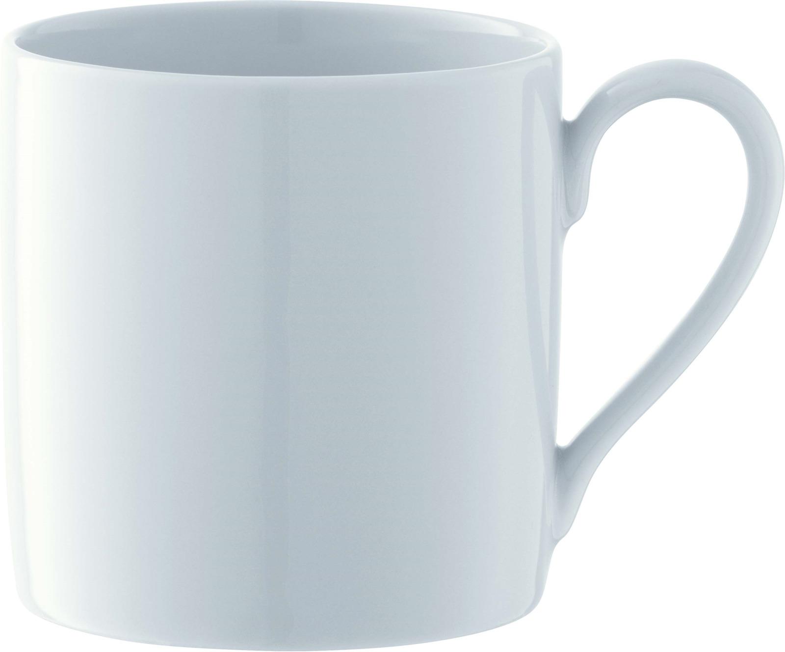 Набор чашек LSA Dine, цвет: белый, 340 мл, 4 шт сахарница lsa dine цвет белый