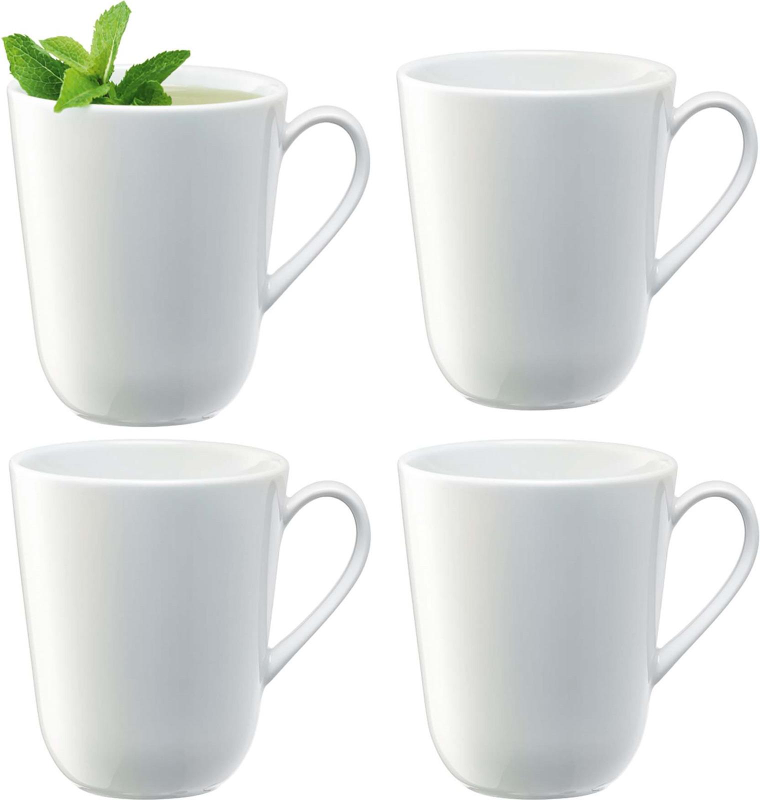 Набор чашек LSA Dine, 380 мл, 4 шт сахарница lsa dine цвет белый