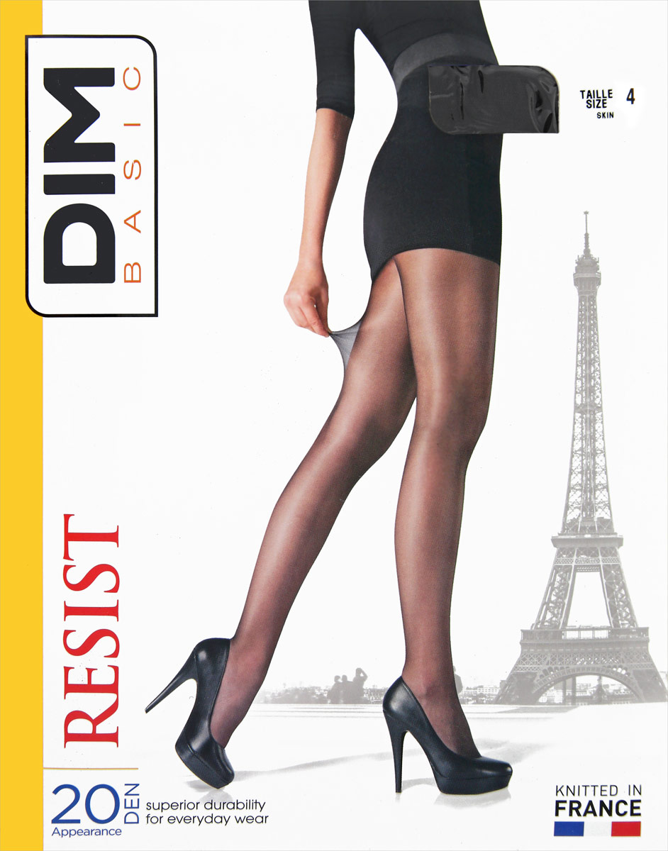 981ef00602176 Колготки женские dim basic цвет skin бежевый d015m_9ak размер 3 ...