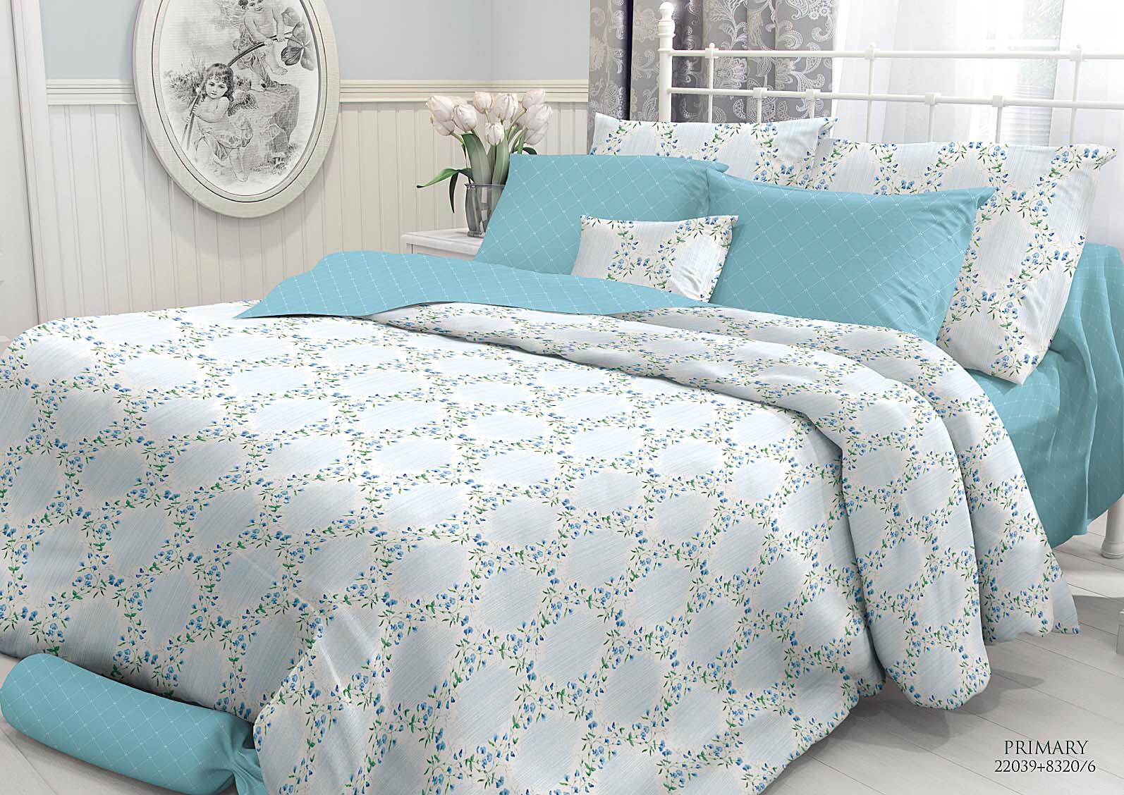 Комплект белья Verossa Primary, 1,5-спальный, наволочки 50x70. 727852