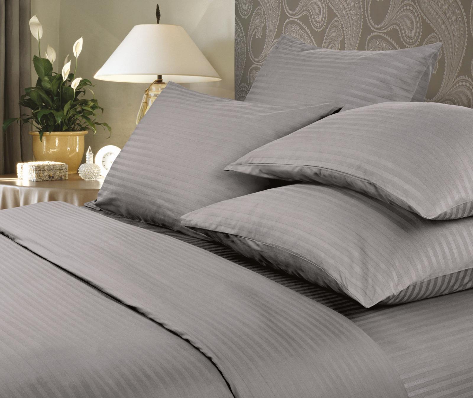 Комплект белья Verossa Gray, 2-спальный, наволочки 50x70