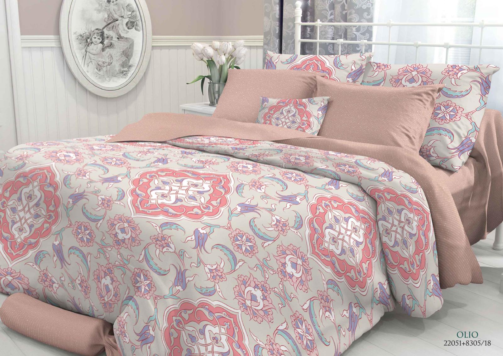 Комплект белья Verossa Olio, 2-спальный, наволочки 50x70