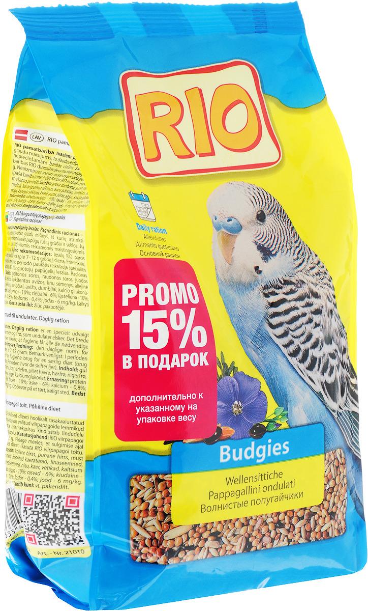 """Корм для волнистых попугайчиков Rio """"Основной рацион"""", 500 г"""