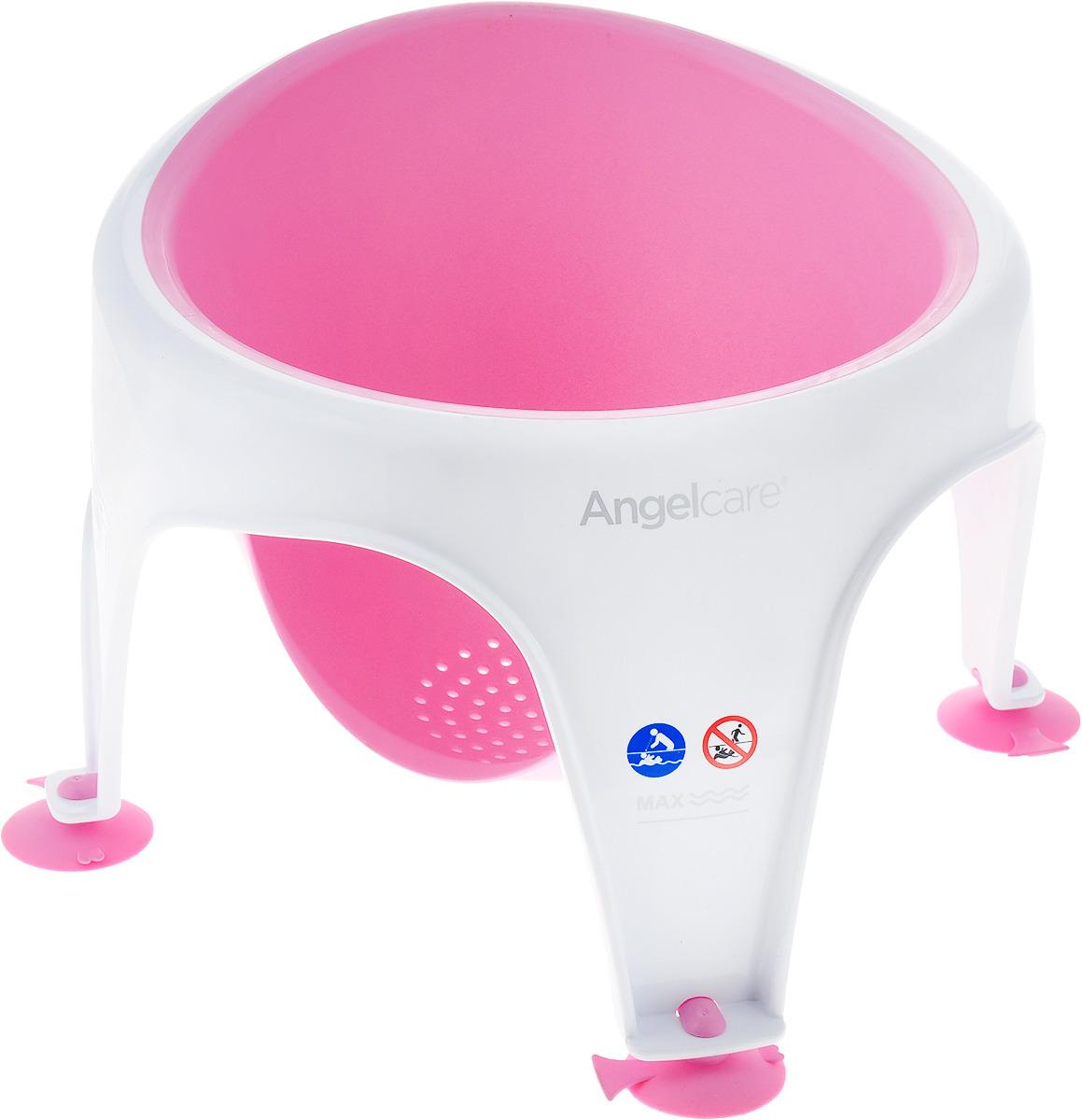 Angelcare Стульчик для купания Bath Rng цвет розовый