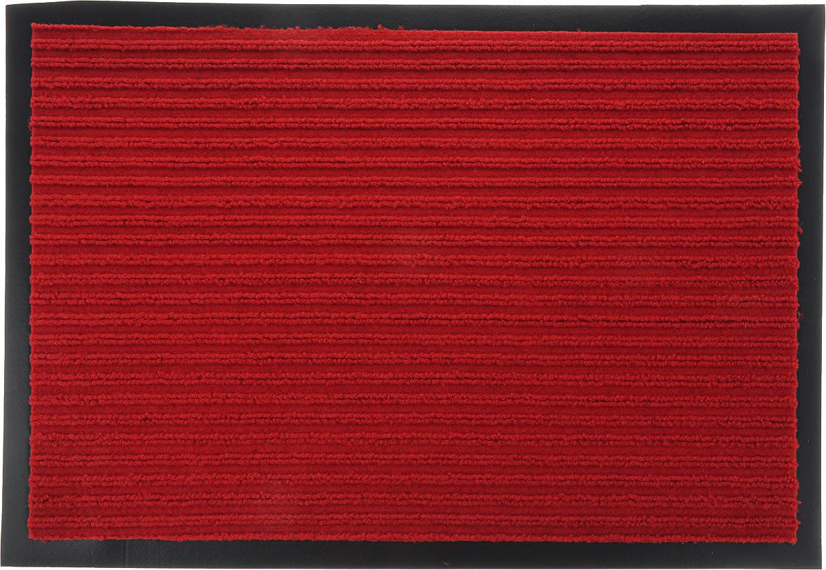 Коврик придверный Стар Экспо Стандарт, влаговпитывающий, цвет: красный, 40 х 60 см сувенир экспо