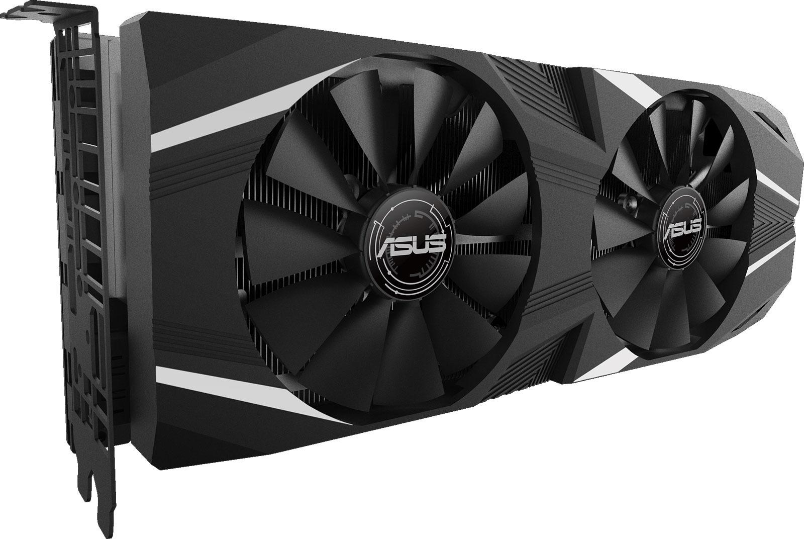 Видеокарта ASUS Dual GeForce RTX 2080 OC 8GB, 90YV0C30-M0NМ00 видеокарта msi geforce rtx 2080 duke 8g oc 8gb 1845 mhz nvidia rtx 2080 gddr6 14000mhz 256bit pci e usb type c hdmi dpx3