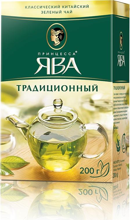 Принцесса Ява Традиционный зеленый чай листовой, 200 г ява книги христианские стихи