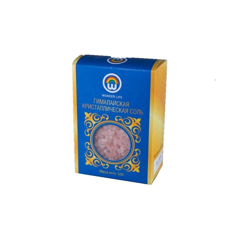 Соль Wonder Life Пищевая розовая Гималайская приправка соль гималайская розовая со средиземноморскими травами 200 г