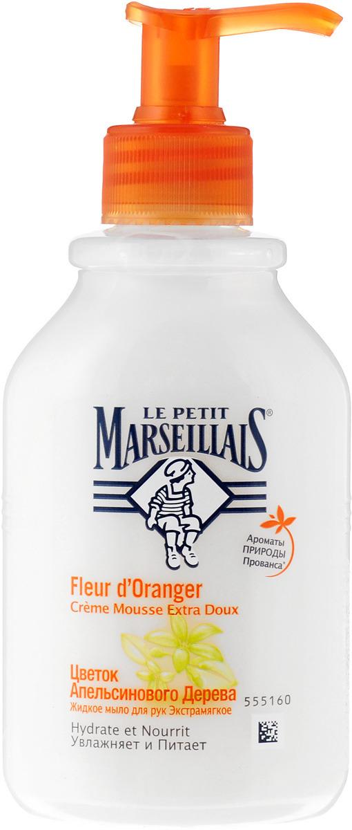 Le Petit Marseillais Жидкое мыло для рук Цветок апельсинового дерева, 300 мл мыло жидкое le petit marseillais малина и пион 300 мл