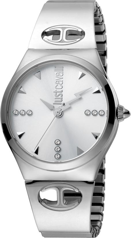 Часы наручные женские Just Cavalli Logo, цвет: серебристый. JC1L027M0015 все цены